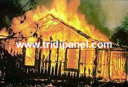 Non Tridipanel Home Burning!